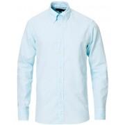 Eton Slim Fit Royal Oxford Button Down Shirt Turquoise
