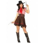 Disfarce cowgirl do oeste mulher - M (38-40)