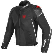 Dainese Super Rider D-Dry Motorcykel textil jacka Svart Vit Röd 54
