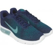 Nike AIR MAX SEQUENT 2 Running Shoes For Men(Blue)
