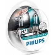 Set 2 becuri auto pentru far Philips H7 12V 55W PX26d X-Treme Vision Plus