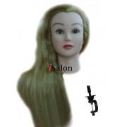 Cap Practica Par Natural 50% Par Blond si Lungime Par 50 - 55 cm