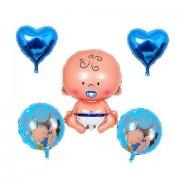 Set baloane nou nascut baiat