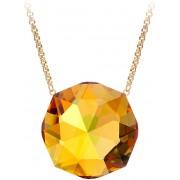 Preciosa Luxusní náhrdelník s třpytivým přívěskem Helios 7366Y61