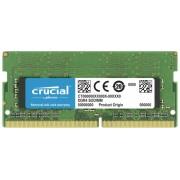 Crucial 16GB DDR4 3200 MT/s SODIMM 260pin DR x8 unbuffered
