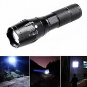 ELECTROPRIMEÃ'® Handheld Flashlights A100 XML T6 LED Flashlight Zoom Torch Light for Hiking
