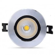 Spot LED 5W Rotund Mobil Negru-Argintiu