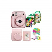 Fujifilm Instax Mini 11 Blush Pink Camera con 2 x Fuji In...