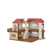 Sylvanian Families Kétszintes ház piros tetővel