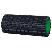 Schildkröt Fitness massagerol 33 x 14 cm zwart