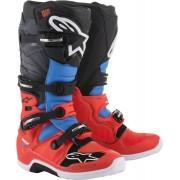 Alpinestars Tech 7 Motokrosové boty 51 Černá červená Modrá