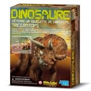 Deterre Ton Dinosaure Triceratops Kit De Construction Maquette Enfants 8 Ans +-4m
