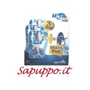 Promo Kit: 3 T-Bag con staffa T-Duck blu NETTUNO