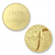Mi Moneda LON-02 Del Mundo - London goudkleurig Large