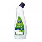 Gel parfumat pentru curatarea obiectelor sanitare LUSTRO RAPIDO Forest 750ml