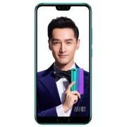 "Telefon Mobil Huawei Honor 10, Procesor Octa-Core 2.4GHz/1.8GHz, IPS LCD Capacitive touchscreen 5.84"", 4GB RAM, 64GB Flash, Camera Duala 16+24MP, Wi-Fi, 4G, Dual Sim, Android (Verde) + Cartela SIM Orange PrePay, 6 euro credit, 6 GB internet 4G, 2,000 minu"