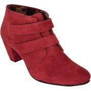 Exotique Women's Maroon Casual Boot (EL0031MN)