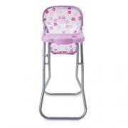 Manhattan Toy Baby Stella Blissful Blooms High Chair for Nurturing Baby Dolls Playset