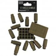 Náboje do zbraně Paper Shooters 6 ks + molo
