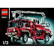 "Instruction Manuals For Lego Technic Set #8289 ""Fire Truck"""