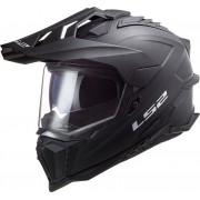 LS2 MX701 Explorer HPFC Solid Motocross Hjälm S Svart