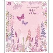 grote moederdagkaart woodmansterne - to a wonderful mum on mother's day