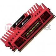 Memorie Corsair Vengeance Red, 2x8GB DDR3, 1600MHz, CL10