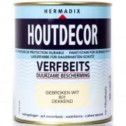 Hermadix houtdecor 601 gebroken wit 750 ml