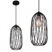 [lux.pro] Függőlámpa függeszték Oakland 160 x Ø 15 cm design mennyezeti lámpa bronz