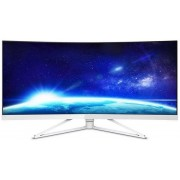 "Monitor Gaming VA LED Philips 34"" 349X7FJEW/00, WQHD (3440 x 1440), HDMI, DisplayPort, USB 3.0, Ecran Curbat, Boxe, 4 ms (Alb)"