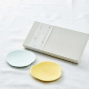 Teshio 三つ雲 2枚組ギフト(黄色×水色)