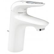 Baterie lavoar monocomanda marimea S Grohe Eurostyle culoare alb ,maner decupat- 33558LS3
