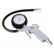 Guminyomás mérőóra 0-16bar 40cm gumitölmlő