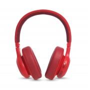 JBL E55BT Wireless over-ear headphones - безжични слушалки с микрофон за мобилни устройства (червен)
