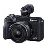 Canon »EOS M6 MarkII EF-M 15-45mm f/3.5-6.3 IS STM Kit« Systemkamera (EF-M 15-45mm f/3.5-6.3 IS STM, 32,5 MP, WLAN (Wi-Fi), Bluetooth)