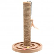 FLAMINGO Cat Scratching Post with Ball Track Brigitte 30x44 cm 560146