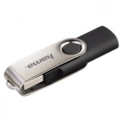 USB DRIVE, 8GB, Hama Rotate, USB2.0, Black (90891)