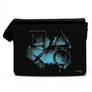 Playstation Smoked Icons Messenger Bag, Messenger Shoulder Bag