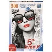 Puzzle 5Th Avenue Fata, 500 Piese