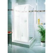 Schulte Home Paroi latérale pour porte de douche pliante Phoenix II, 90 cm, profilé blanc