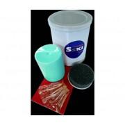 Sski Wax Kit Skiman Blu 200 Gr