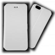 Kалъф - тефтерче SLIM със страничен магнит за iPhone 6 / 6s (БЯЛ)