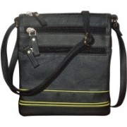 Style 98 Men & Women Casual Multicolor Genuine Leather Sling Bag