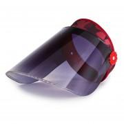 femenina verano PVC de Sol de Ciclismo de viaje visera ajustable al aire libre protección solar contra rayos UV transparente Sombrero LANG(#HC001-35-A)