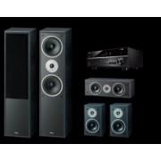 Pachete PROMO SURROUND - Magnat - Monitor Supreme 802 pachet 5.0 + Yamaha RX-V385 Mocca