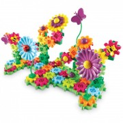Set de constructie Gears Floral Learning Resources
