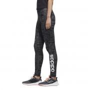 Adidas Performance Leggings de desporto Essentialpreto/cinzento- XS