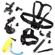 Kit de camara de los deportes para GoPro heroe 4 Sesion 4 3+ SJ4000 SJ5000 SJCam