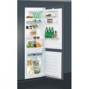 Combina frigorifica incorporabila whirlpool ART 6612 , A++ , 275 L , Control electronic , 3 sertare
