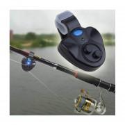 Modaling Al Aire Libre Del LED Clip Pesca Luz Pescado Ringer Batería De Alarma Mordedura De Rod Electrónica